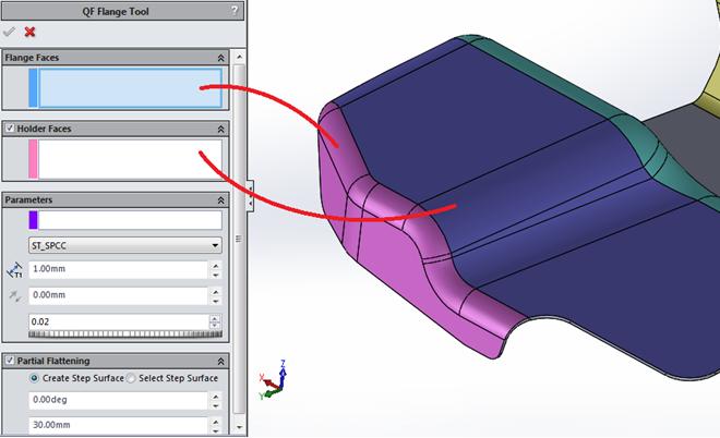 Ứng 3D QuickPress V6 trong thiết kế
