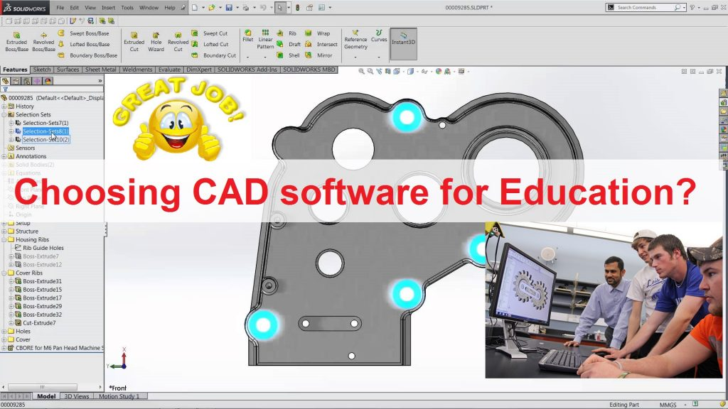 SOLIDWORKS 3D CAD phần mềm thiết kế cơ khí dễ học, dễ sử dụng