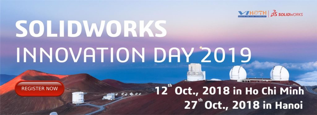 Tham dự SOLIDWORKS-Innovationday-2019 cùng ViHoth