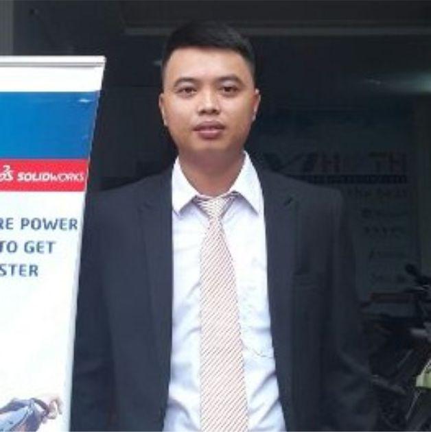 Mr. Lưu diễn giả trong SOLIDWORKS Innovation Day 2019