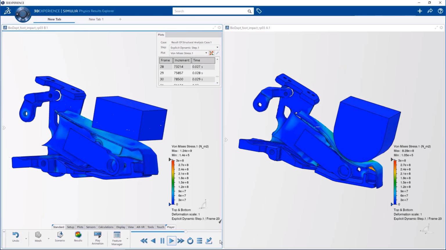 Mô phỏng cơ khí 3D bằng SIMULIAworks trên nền tảng 3DEXPERIENCE